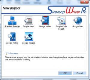 Enlarge Sitemap Writer Pro Screenshot
