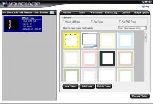 Enlarge Batch Photo Factory Screenshot