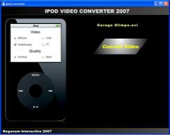 Enlarge Reganam iPOD Video Converter Screenshot