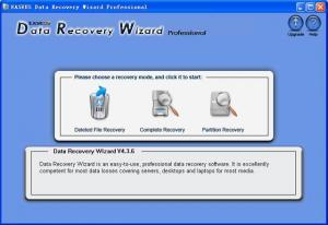 Enlarge EaseUS Data Recovery Wizard Screenshot