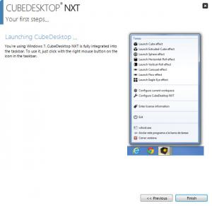 Enlarge CubeDesktop NXT Screenshot