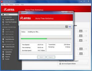 Enlarge Avira Free Antivirus Screenshot