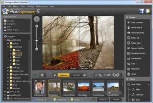 Enlarge Ashampoo Photo Optimizer Screenshot