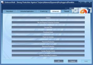 Enlarge DefenseWall Personal Firewall Screenshot