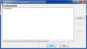 Enlarge Trojan  Remover Screenshot