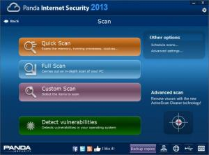 Enlarge Panda Internet Security Screenshot