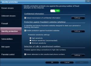 Enlarge Panda Internet Security Screenshot