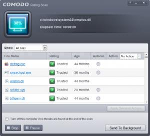Enlarge Comodo  AntiVirus Screenshot