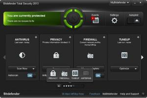 Enlarge Bitdefender Antivirus  Plus Screenshot