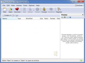 Enlarge PowerArchiver Screenshot