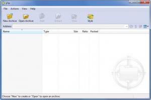 Enlarge jZip Screenshot
