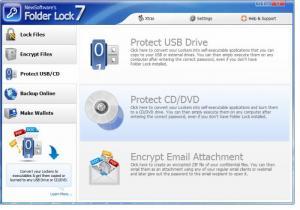 Enlarge Folder Lock Screenshot