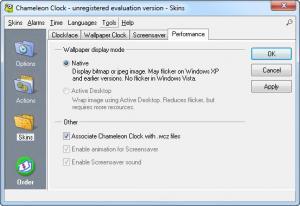 Download Chameleon Clock Free