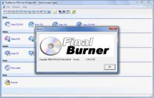 Enlarge FinalBurner Screenshot