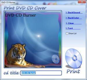 Enlarge DVD CD  Burner Screenshot
