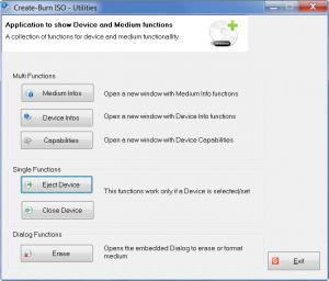 Enlarge Free Create-Burn  ISO Screenshot