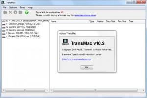 Enlarge TransMac Screenshot