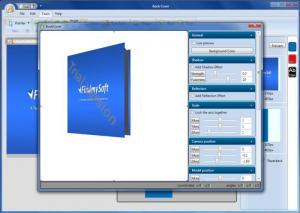 Enlarge Virtual Cover Creator Screenshot