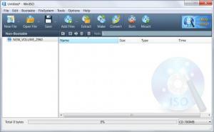 Enlarge WinISO Standard Screenshot