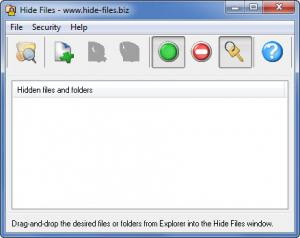 Enlarge Hide Files Screenshot