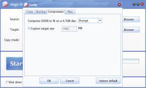 Enlarge Magic DVD  Copier Screenshot
