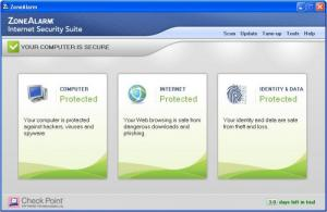 Enlarge ZoneAlarm Internet Security Suite Screenshot