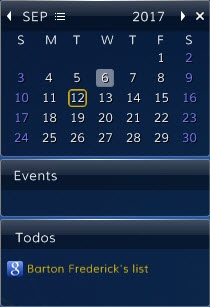 Enlarge Desktop iCalendar  Lite Screenshot