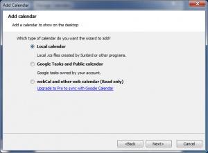 Enlarge Desktop iCalendar  Lite Screenshot