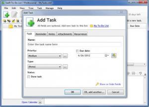 Enlarge Swift To-Do  List Screenshot