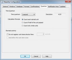 Enlarge MapleXP Screenshot