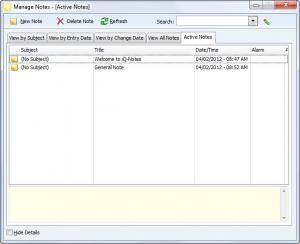 Enlarge iQ-Notes Screenshot