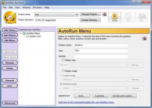 Enlarge AutoRun  Architect Screenshot