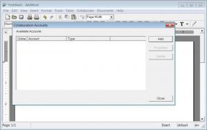 Enlarge AbiWord Screenshot