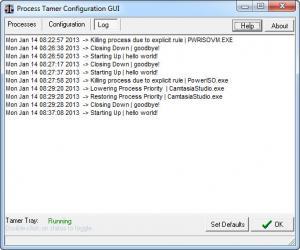 Enlarge Process Tamer Screenshot