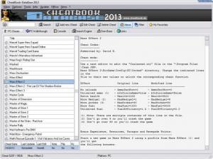 Enlarge CheatBook DataBase Screenshot