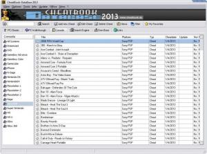 Enlarge CheatBook DataBase Screenshot