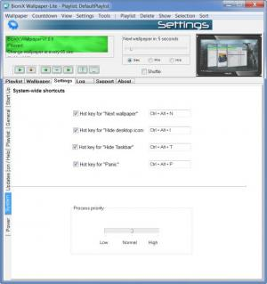 Enlarge BioniX Wallpaper Changer Screenshot