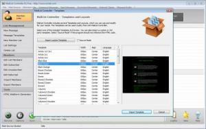 Enlarge MailList  Controller Screenshot