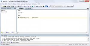Enlarge TextPad Screenshot