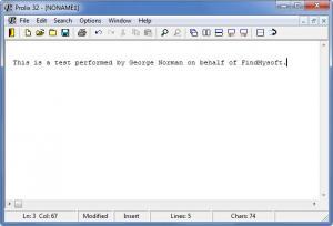 Enlarge Prolix Screenshot