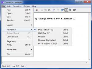 Enlarge Metapad Screenshot