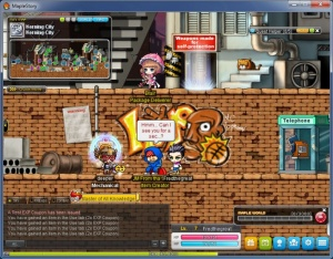 Enlarge MapleStory Screenshot