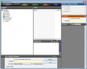 Enlarge PDF  reDirect Screenshot