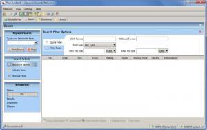 Enlarge Phex Screenshot