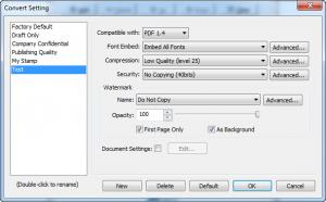 Enlarge DocuCom PDF  Driver Screenshot