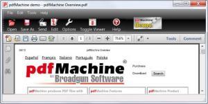 Enlarge pdfMachine Screenshot