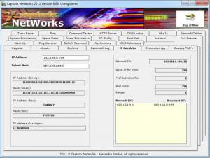 Enlarge Capturix NETWorks Screenshot