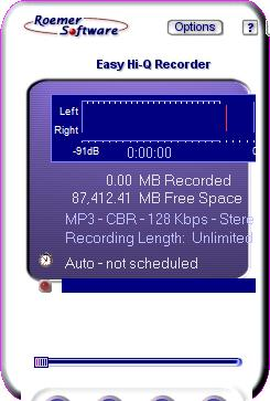 Enlarge Easy Hi-Q Recorder Screenshot