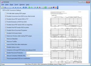 Enlarge PDF2EXE Screenshot