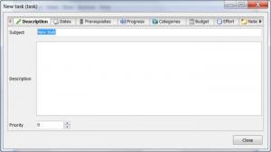 Enlarge Task  Coach Screenshot